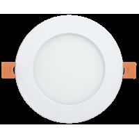 Светильник ДВО 1608 белый круг LED 18Вт 6500 IP20 IEK