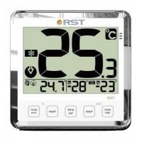 Термометр цифровой для пластиковых и деревянных окон(термометр,ice alert, индикатор сост.батарей) цвет белый