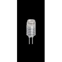 Лампа светодиодная 1,5 Вт 12В G4 капсульная, Блистер 5 штук, тёплый 3000К