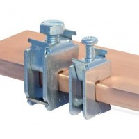Шинная клемма для кабеля, сечение шины 5 мм, кабель 1,5-16 мм