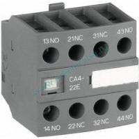 Блок контактный дополнительный CA4-40E 4НО для контакторов AF09…AF38