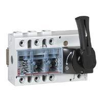 Выключатель-разъединитель 3-пол. 100А фронтальное управления, черная ручка, Vistop