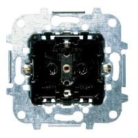 Механизм розетки 2Р+Е со шторками, с винтовыми клеммами 16А 250В