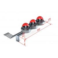 Сплошной пластрон для щита Schneider Electric