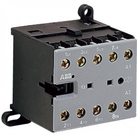 Миниконтактор 9A (400В AC3) катушка 24В АС, 1НЗ, B6-30-01