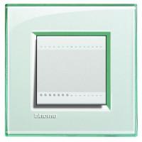 Рамка 2 модуля морская вода Living Light (Bticino)
