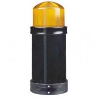 Сегмент световой колонны с лампой- вспышкой 10 Дж оранжевый 70мм 230В AC