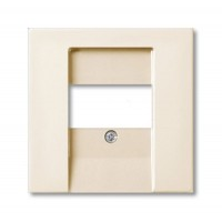 Накладка розетки для аккустических систем (0247,0248) Шале белый Basic 55
