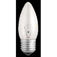 Лампа накал. свеча 60 Вт, E27, прозрачная