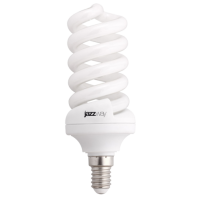Лампа энергосберегающая 15 Вт Е14 2700K спираль, теплый