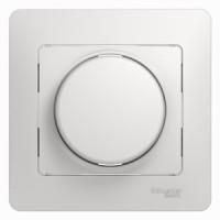 Светорегулятор универсальный 600 вт белый Glossa