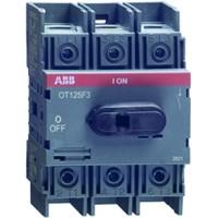 Рубильник 125А 3-пол. OT125F3 для установки на DIN-рейку или монтажную плату (1SCA135438R1001)