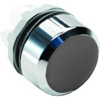 Кнопка черная без подсветки без фиксации ( только корпус ) тип MP1-20B
