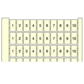 Маркер горизонтальный 10x(1-10) RC510