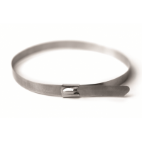 Хомут кабельный метал. 4,6х150 мм из нержавеющей стали (AISI-304)