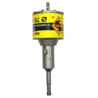 Коронка SDS-PLUS 85 мм в сборе д/кирп.