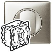 Механизм проходного переключателя 1 клавишного 10 А Celiane