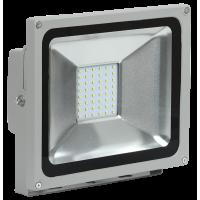 Прожектор СДО 05-30 светодиодный серый SMD IP65 IEK