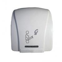 Сушилка для рук 1,5 кВт 220 В скор.потока воздуха 15 м/с авт.вкл./выкл.корпус ударопрочный пластик цвет белый IP23