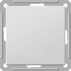 Переключатель проходной 1 клавишный белый Wessen 59