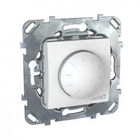 Диммер поворотный для люминесцентных ламп с ЭПРА 1-10В, 400Вт белый Unica