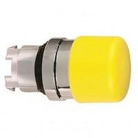 Головка для кнопки жёлтая 22 мм с возвратом