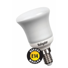 Лампа энергосберегающая 8 Вт Е14 3000K рефлектор, тёплый