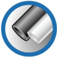 ТУТ 16/8 белая, трубка термоусаживаемая тонкостенная 16/8 мм до 1кВ (-55С+105С) белая