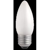 Лампа накал. свеча 60 Вт, E27, матовая