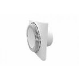 Вентилятор осевой 140 куб.м/час 20 Вт 220 В для настен. и потолоч.монтажа (диам.шахты 125мм)  с обрат.клапаном серия  DISK