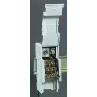 Кросс-модуль 1 полюс, 160 А, 1х35-70 мм.кв. + 7х2,5-10 мм.кв. + 2х6-25 мм.кв. + 3х10-35 мм.кв.