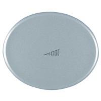 Накладка для клавишного светорегулятора серебро Tacto