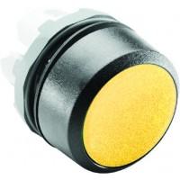Кнопка желтая (только корпус) без подсветки без фиксации тип MP1-10Y