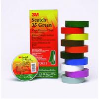 Изолента 19 мм х 20 м Scotch 35 ПВХ высшего класса зеленая