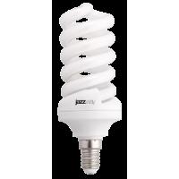 Лампа энергосберегающая 20 Вт Е14 2700K спираль, теплый
