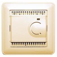 Терморегулятор теплого пола 10 А слоновая кость Wessen59