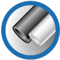 ТУТ 8/4 белая, трубка термоусаживаемая тонкостенная 8/4 мм до 1кВ (-55С+105С) белая