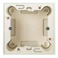 Коробка  для открытой установки  белый Zenit