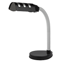 Светильник настольный для КЛЛ 15Вт Е27  IP20 черный