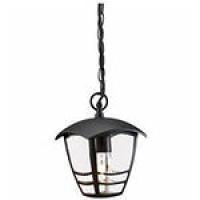 Светильник подвесной 60Вт E27, черный Creek lantern pendant IP44