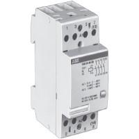 Контактор модульный 24А кат. 220В 4НО тип ESB24-40