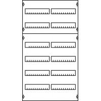 Панель под установку модульных устройств 2ряда/4рейки (96 модулей)