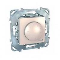 Диммер поворотный для люминесцентных ламп с ЭПРА 1-10В, 400Вт бежевый Unica