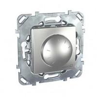 Диммер поворотный для ламп накаливания и галогенных ламп 230В, 40-400Вт алюминий Unica Top