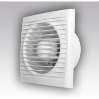 Вентилятор осевой   80 куб.м/час 20 Вт 220 В для настен. и потолоч.монтажа (диам.шахты 100мм)  с москитной сеткой серия  ERA
