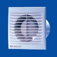 Вентилятор осевой 180 куб.м/час 16 Вт 220 В для настен. и потолоч. монтажа (диам.шахты 125мм) с выключателем серия  С