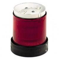 Сегмент световой колонны мигающего свечения красный 70мм со встроенной LED подсветкой 24В AC/DC