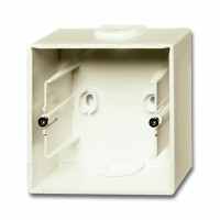 Коробка открытого монтажа 1 пост слоновая кость Basic 55