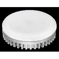 Лампа светодиодная 10 Вт GX53 5000К таблетка, холодный белый