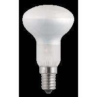 Лампа нак. 60 Вт, 220В, Е14, зеркальная 50mm, матовая